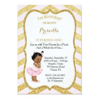 1st Birthday GIRL,Ethnic 1st Birthday,1st Birthday Card