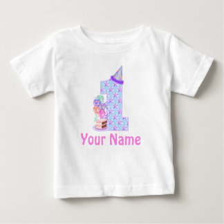 1st Birthday Girl Personalized T-shirt