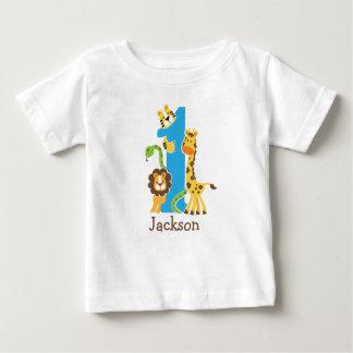 1st Birthday Jungle Tshirt