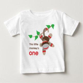 1st Birthday Little Monkey Shirt