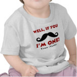 1st Birthday Moustache Personalised T-shirt
