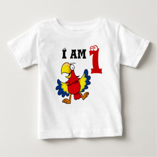 1st birthday party gift, singing parrot baby T-Shirt