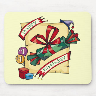 1st Birthday Party Gifts Mouse Pad