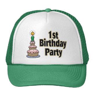 1st birthday party hat