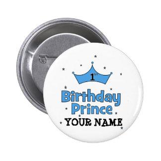 1st Birthday Prince 6 Cm Round Badge