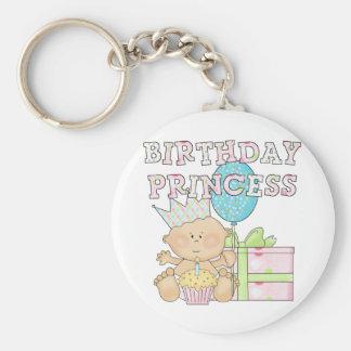1st Birthday Princess With Crown Tshirts Key Chains