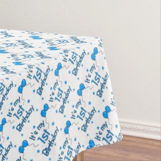1st Birthday Tablecloth