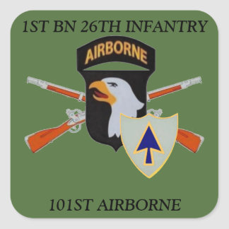 1ST BN 26TH INFANTRY 101ST AIRBORNE STICKERS