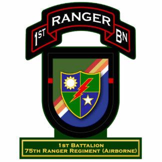 1st Bn, 75th Ranger Regiment - Airborne Standing Photo Sculpture