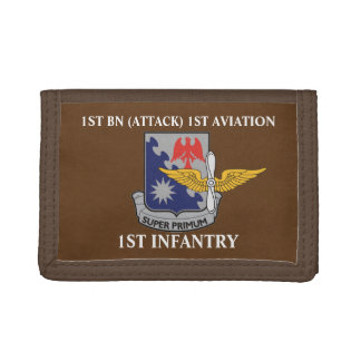 1ST BN (ATTACK) 1ST AVIATION 1ST INFANTRY WALLET