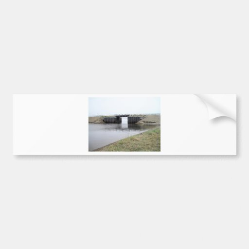 1ST BRIDGE IN KOTZ BUMPER STICKER