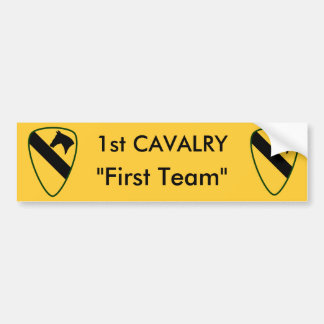 1st Calvary Division Bumper Stickers