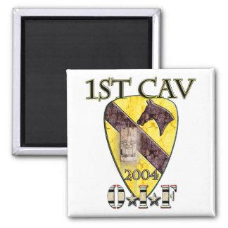 1st Cav 2004 OIF Square Magnet