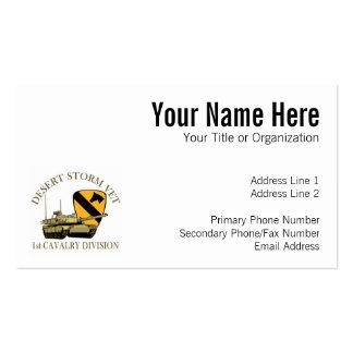 1st Cav Desert Storm Vet Business Card Templates