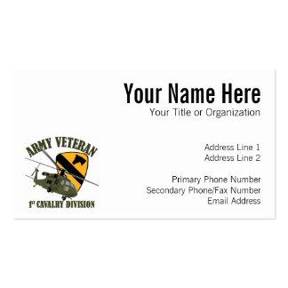 1st Cav Vet - UH60 Blackhawk Business Card