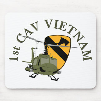 1st Cav Vietnam Mouse Pad