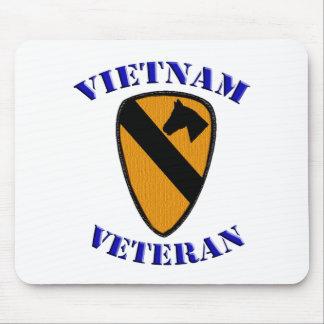 1st Cav Vietnam Veteran Mouse Pad