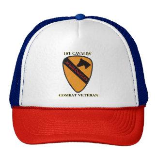 1ST CAVALRY AFGHANISTAN COMBAT VETERAN HAT
