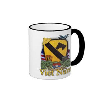 1st cavalry air cav vietnam nam vets cups coffee mugs