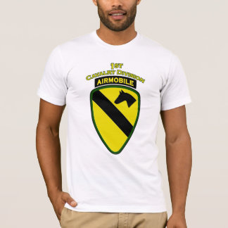 1st Cavalry Airmobile shoulder patch T-shirt