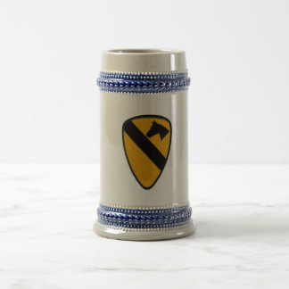 1st Cavalry Army Patch Beer Stein