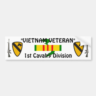 1st Cavalry Div bumper sticker
