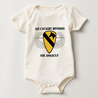 1st Cavalry Division Air Assault - W/Text Baby Bodysuit