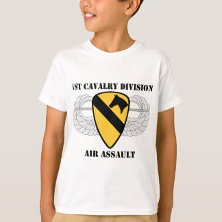 1st Cavalry Division Air Assault - W/Text T-shirt