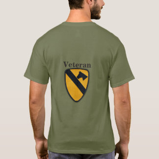 1st Cavalry Division Air Cav Fort Hood Patch T-Shirt