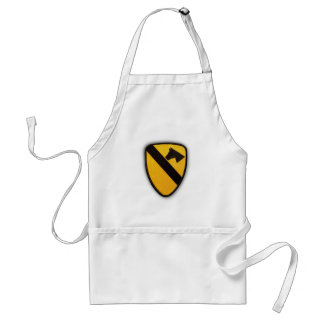 1st cavalry division air cav patch bbq apron