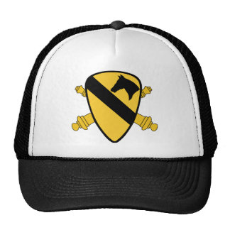 1st Cavalry Division Artillery Mesh Hats
