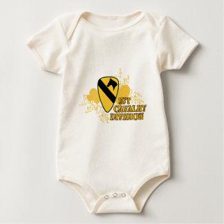 1st Cavalry Division Baby Bodysuit