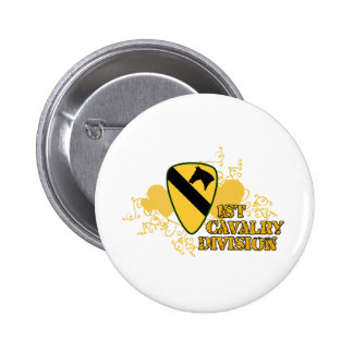1st Cavalry Division Button