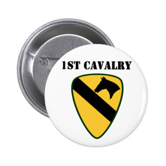 1st Cavalry Division Pinback Buttons