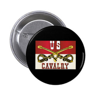 1st CAVALRY DIVISION Banner Pinback Buttons
