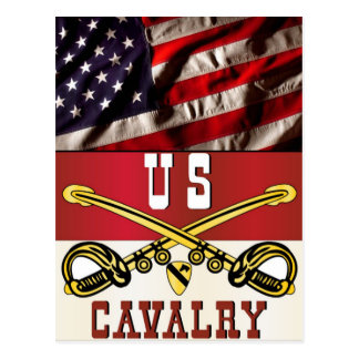 1st CAVALRY DIVISION Banner Postcard