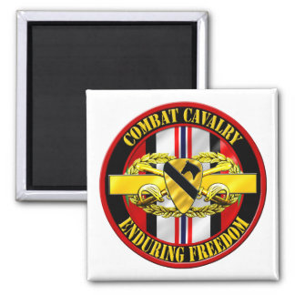 1st Cavalry Division Cavalry Scout OEF Refrigerator Magnets
