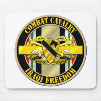 1st Cavalry Division Cavalry Scout OIF Mouse Pad