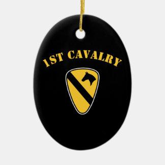1st Cavalry Division Ceramic Ornament
