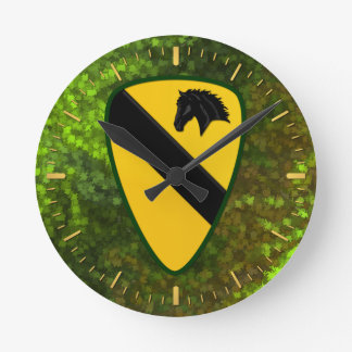 1st Cavalry Division Wallclock
