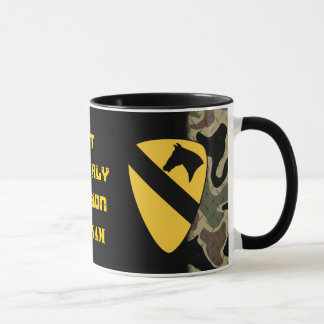 1st Cavalry Division Diamond Plate Coffee Mug