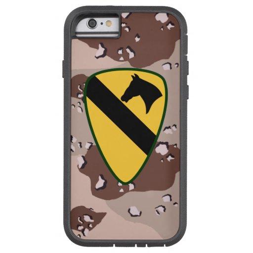 "1st Cavalry Division ""First Team"" Desert Camo iPhone 6 Case"