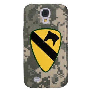 1st Cavalry Division First Team Digital Camo Galaxy S4 Case