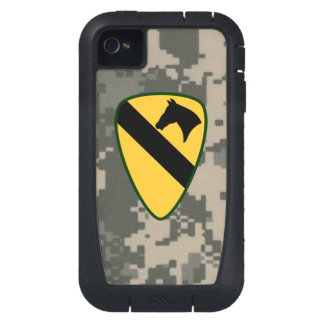 1st Cavalry Division First Team Digital Camo iPhone4 Case