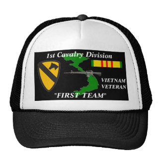 "1st Cavalry Division""First Team""Vietnam Ball Caps Cap"