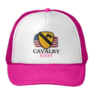 1st cavalry division fort hood veterans girls hat