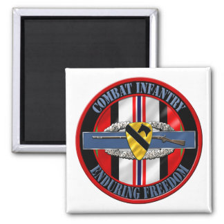 1st Cavalry Division Infantry OEF Refrigerator Magnets