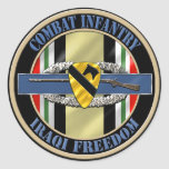 1st Cavalry Division Infantry OIF Sticker