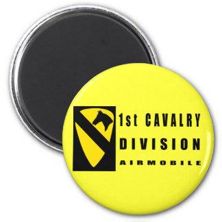 1st CAVALRY DIVISION 6 Cm Round Magnet