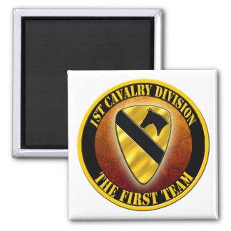 1st Cavalry Division Square Magnet